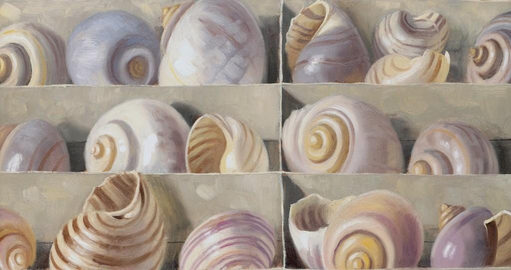 Doosje met schelpen detail 2015 Menno Balm