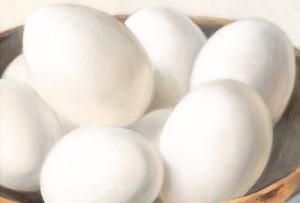 Eieren in bakje detail 2015 Menno Balm