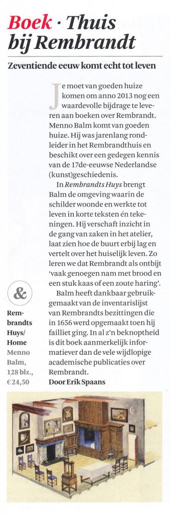 Het Financieele Dagblad  14-9-2013